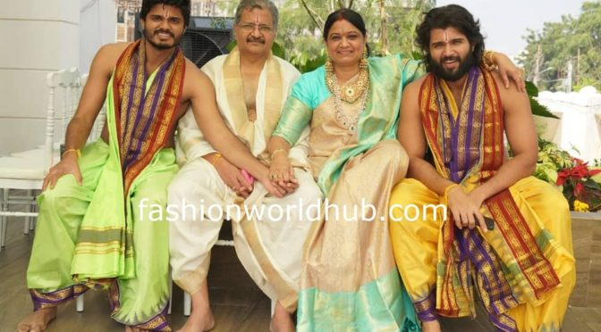 Vijay Devarakonda House warming ceremony photos!