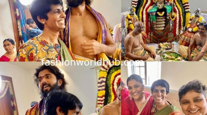 Swapnadutt and Dr Manjula at Vijaydevarakonda House Warming ceremony!