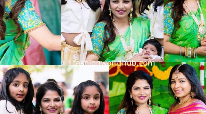 Viranica Manchu and her kids at a family wedding!