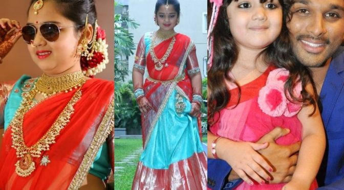 S/o Satyamurthy fame Baby Vernika Halfsaree Function photos!