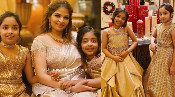 Ariaana and Viviana in Shantanu and Nikhil!