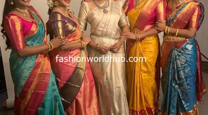 Big boss 3 Telugu Beauties in Traditional saree!