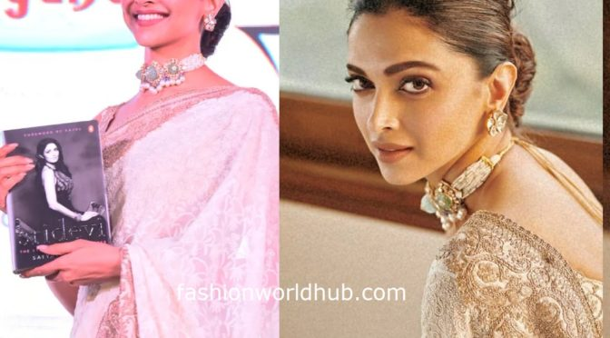 Deepika Padukone at Sridevi's biography book launch event!