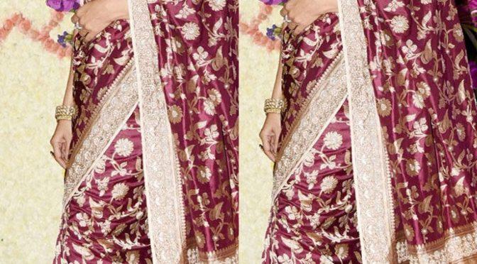 Madhuri Dixit in Banarasi Silk saree!