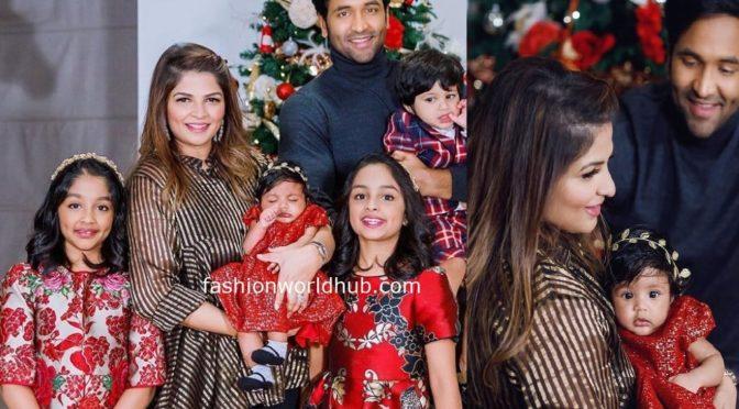 Vishnu Manchu Family Christmas Celebration Photos