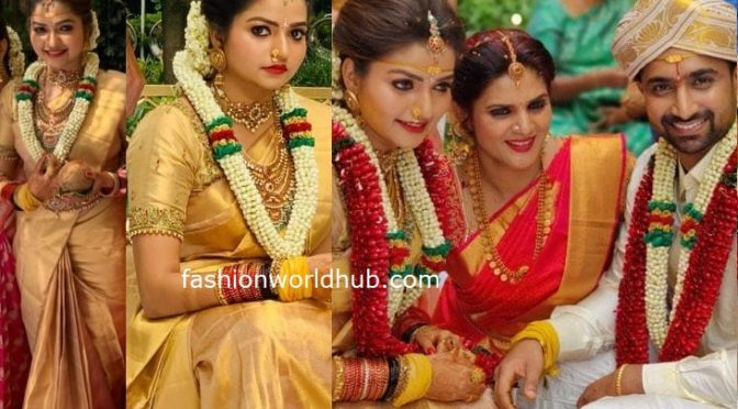 Tv actress Nithya ram wedding photos
