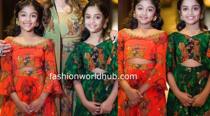 Viranica Manchu and her kids in Masaba gupta at a Family function!