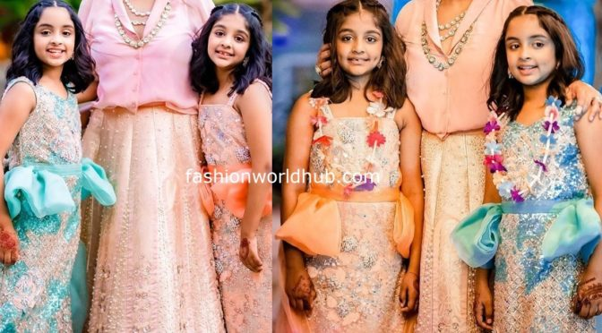 Viranica Manchu and her daughters at a family wedding !