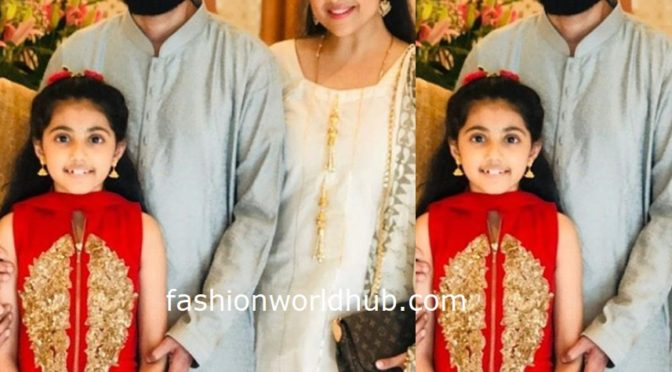Actress Meena Family at recent family function!