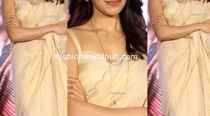 Samantha Akkineni at Jaanu Movie Trailer Launch