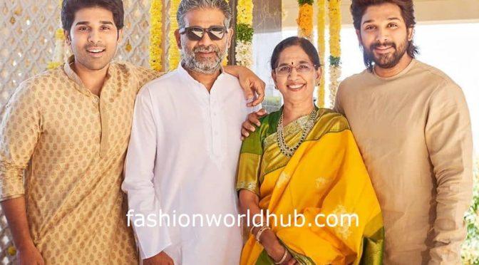 Allu Arjun with his brothers!