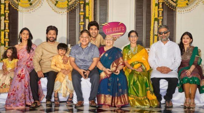 Allu Arjun family pics!