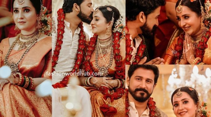 Actress Bhama and Arun's Wedding Photos!