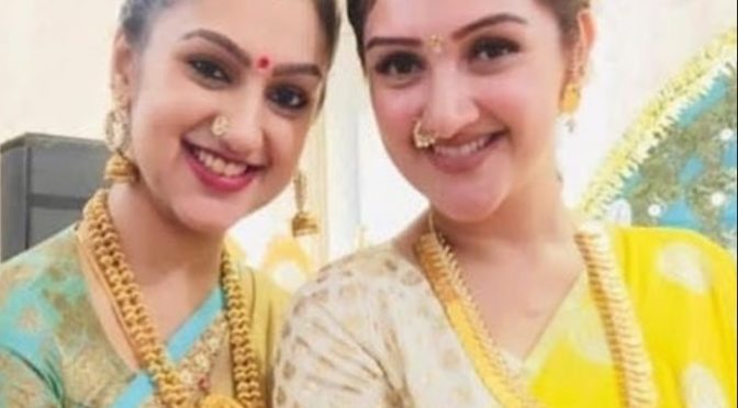 Sridevi vijaykumar and Pritha hari in Traditional gold jewellery!