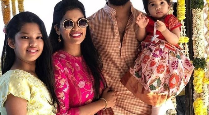Sreeja Kalyan's Family Festive Look!