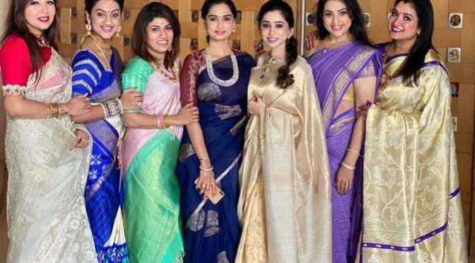 Celebrities in Traditional saree!
