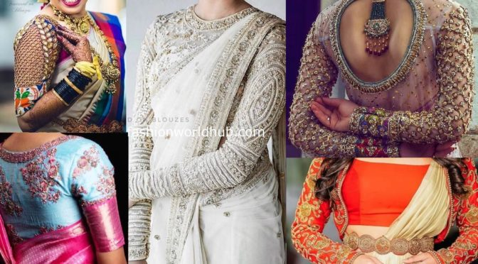 Mind blowing Aari work blouses 2020