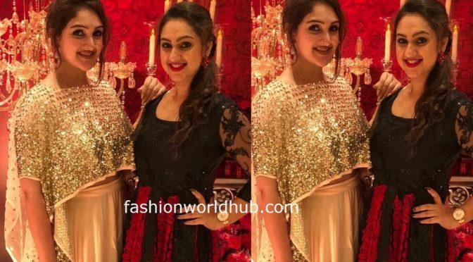 Sridevi vijaykumar and pritha hari in Adorable outfit!