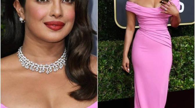 Priyanka Chopra at the Golden Globes Awards 2020