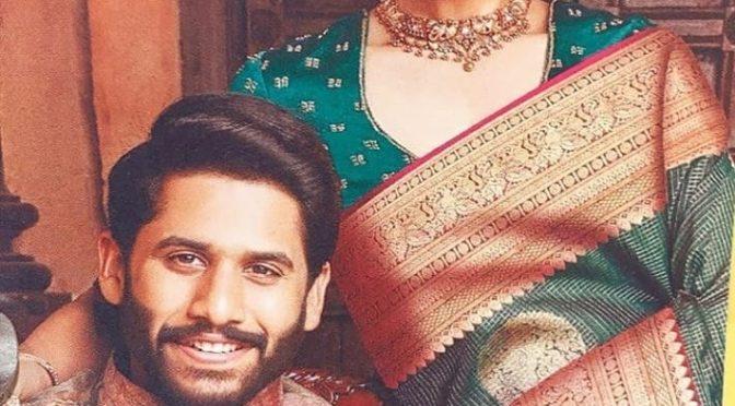 Samantha and NagaChaitanya in Traditional look!