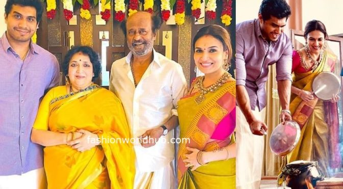 Soundarya Rajnikanth Pongal Celebration photos!