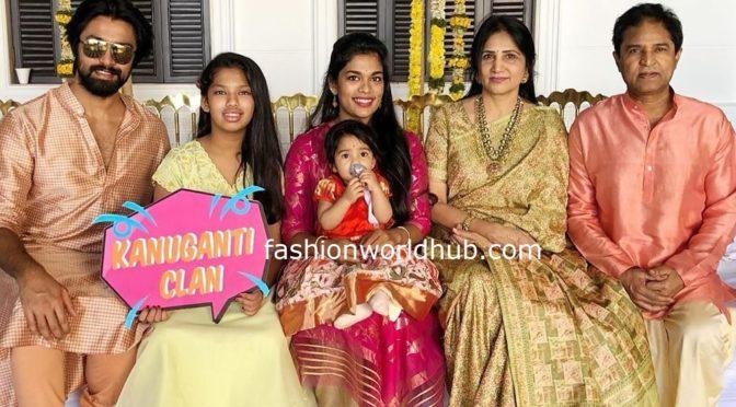 Actor Kalyaan dhev Family Pics!