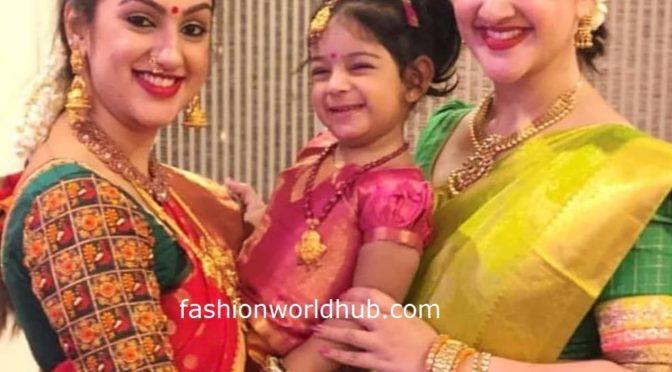 Pritha hari,sridevi vijaykumar and Rupika in traditional Outfit!
