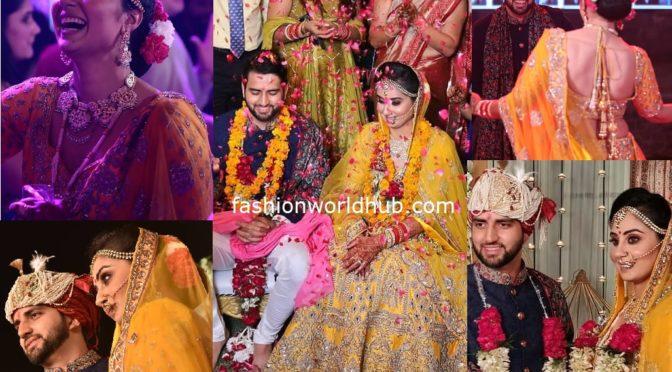 Varudu Actress Bhanu Sree Mehra Wedding Pics!