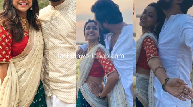 Vithika Sheru and Varun Sandesh Festive look!