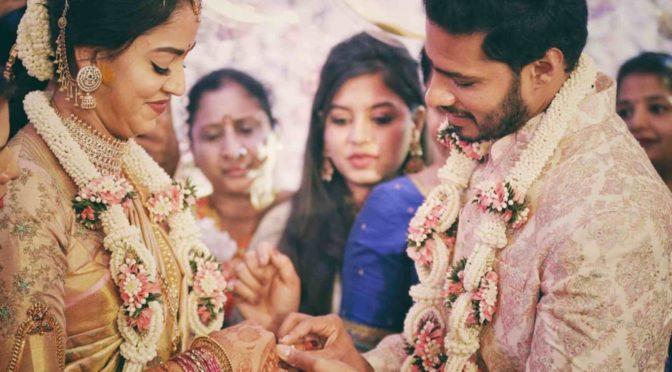 Nikhil Kumaraswamy And Revathy Engagement Photos!