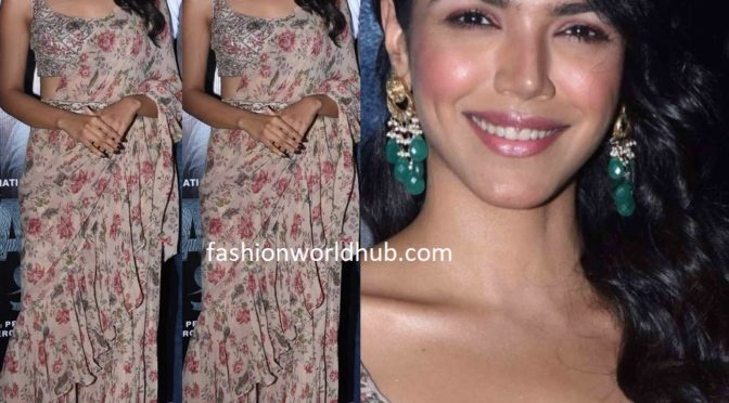 Shriya Pilgaonkar at 'Haathi Mere Saathi' teaser launch
