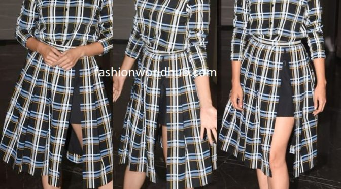 Taapsee Pannu in Studio Rigu for promotions of Thappad