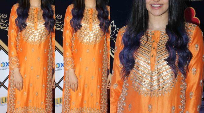 Adah Sharma at Dadasaheb Phalke Awards 2020