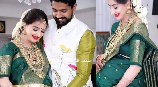 Saath Nibhana Saathiya' fame actress Lovey Sasan (Paridhi jigar) Baby shower photos!