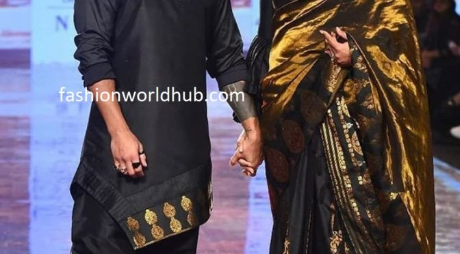 Bipasha Basu and Karan Singh Grover in Sanjukta Dutta