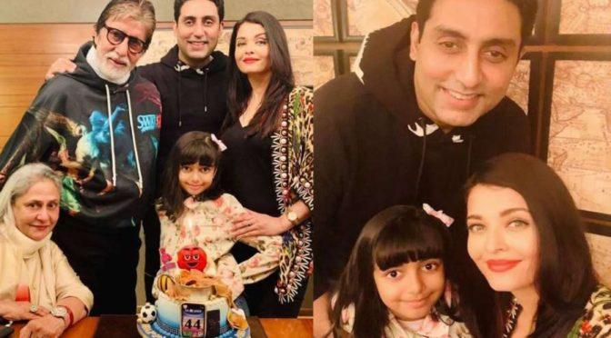 Abhishek Bachchan birthday celebrations pics!!
