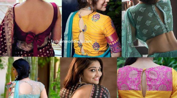 Latest fashion blouse designs 2020