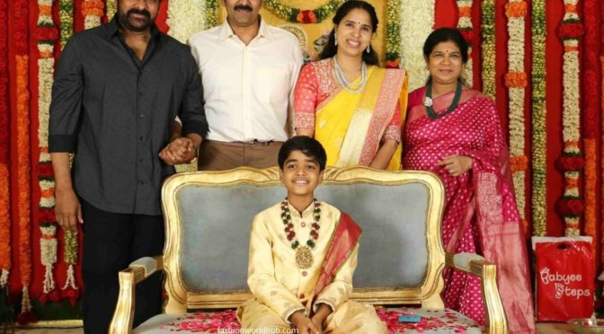 Actor Vadde Naveen Son Jishnu's Dhoti Ceremony!