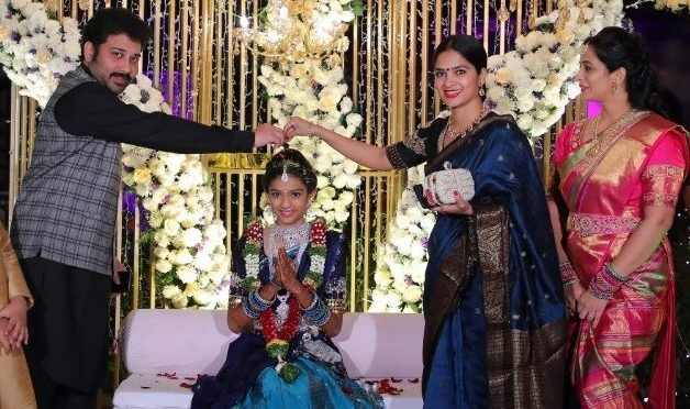 Madhumitha and Sivabalaji at a recent function!