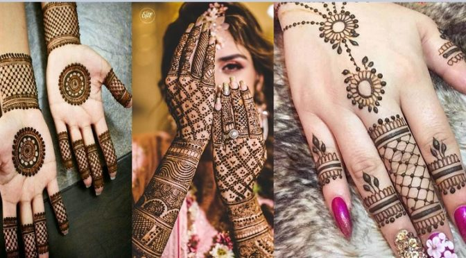 Easy And Simple Mehendi Designs