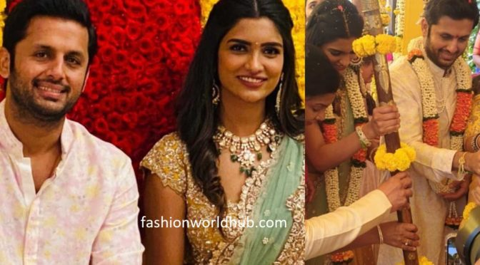 Actor Nithin's Engagement Photos