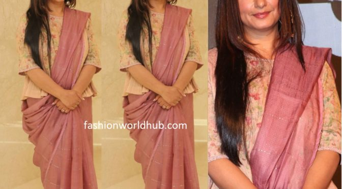 Divya Dutta at Special Ops trailer launch event!