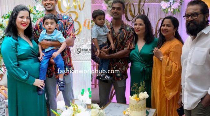 Radhika daughter Rayanee baby shower function photos!