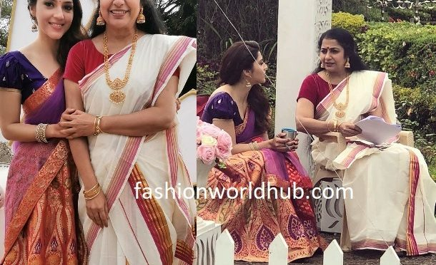 Mehreen and Suhasini in Traditional outfit!