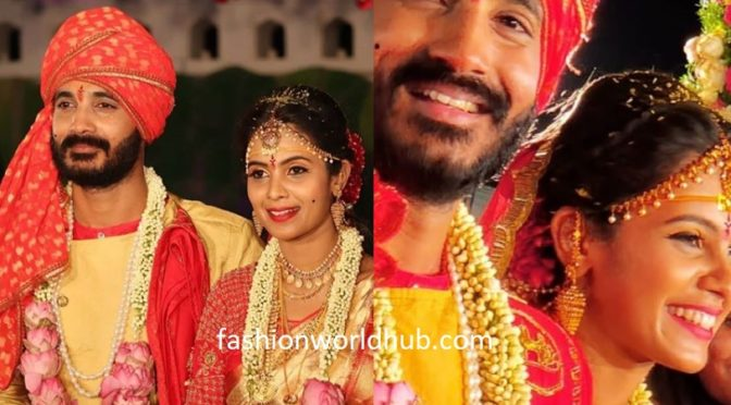 Ninne pelladatha serial fame actor pratp got married to Anusha Hegde!