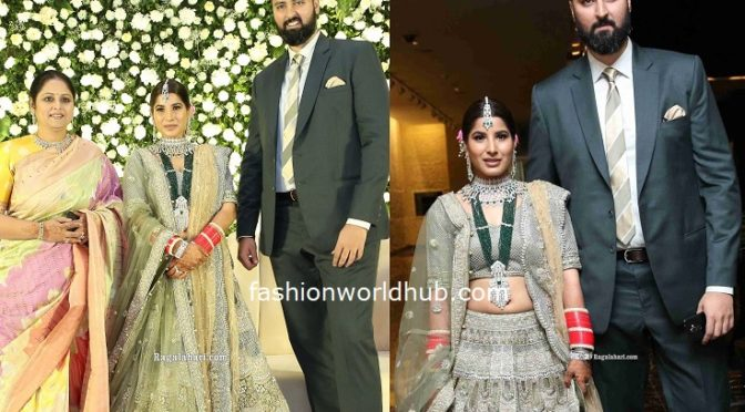 Jayasudha Son Nihar Kapoor's Wedding Reception