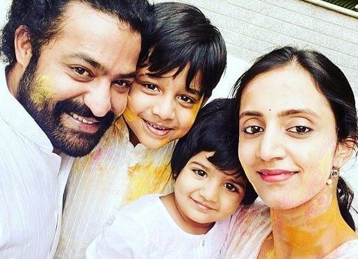 Jr NTR family Holi Celebration pics!