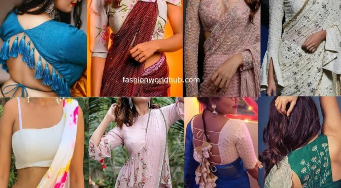 10 Latest Blouse Designs 2020 ruling the present fashion trend!