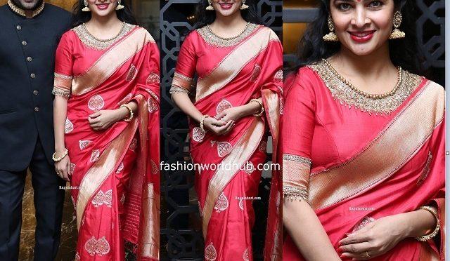 Madhumitha sivabalaji at Jayasudha Son's wedding!