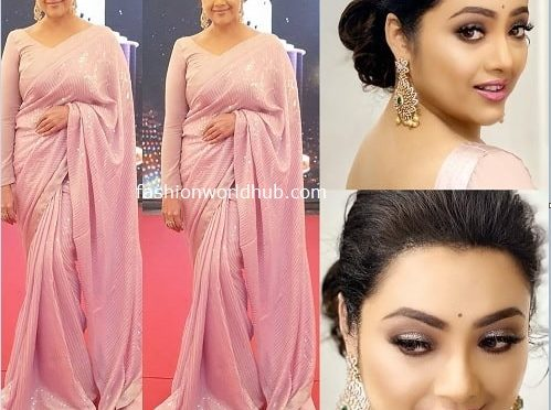 Meena in Geetu Couture at JFW Awards 2020!